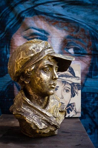 Db Bronze Paper Boy From Blog