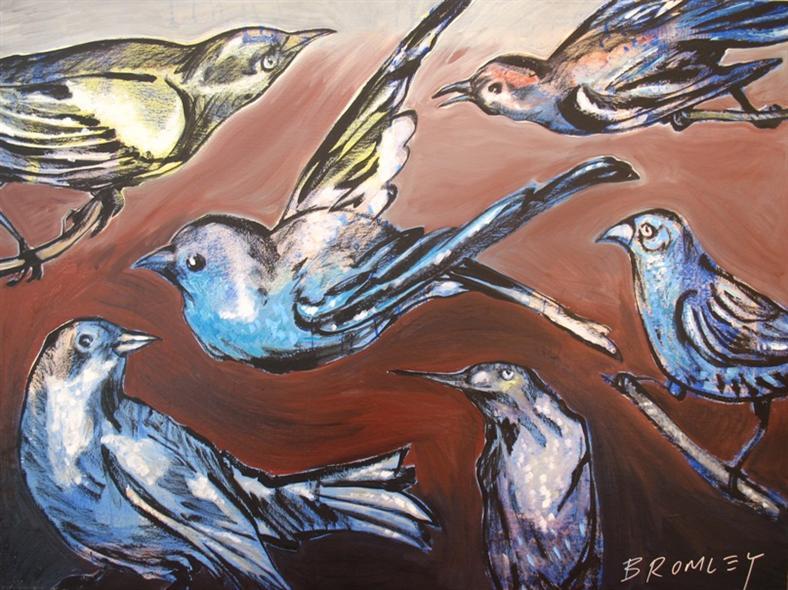 Db58 Bbirds 120X90Cm From Blog