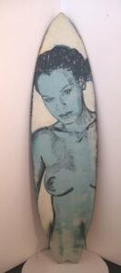 Dbr30 Surfboard Blue Nude Back