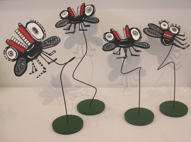 Bug Sculptures From Blog