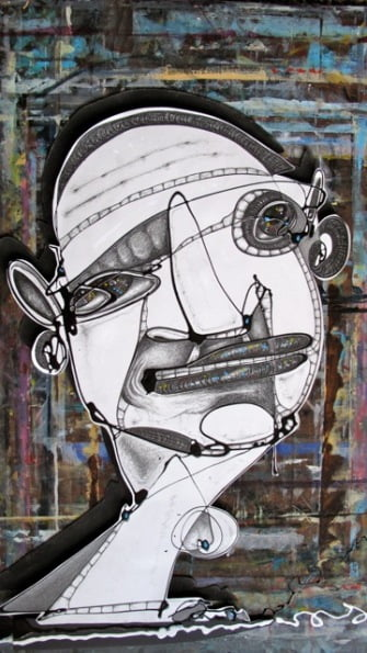 Drawn Part 1 80X110Cm Penci Enamel On Drawing Board 4200 From Blog
