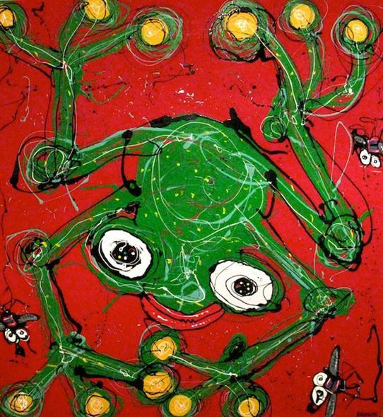 Anthony Breslin   Red Frog Fine Art