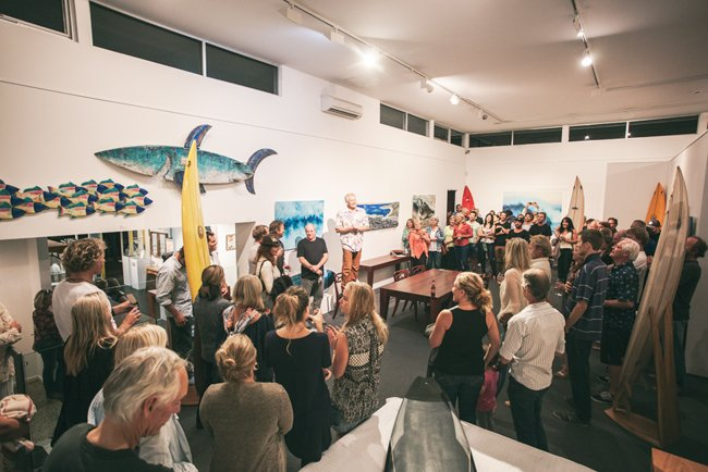 Ocean Art Opening Margaret River Australia Furniture Gallery 4 Marri Timber Jarrah Timber
