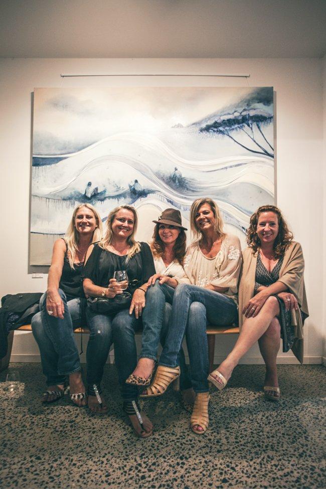 Ocean Art Opening Margaret River Australia Furniture Gallery 5Marri Timber Jarrah Timber
