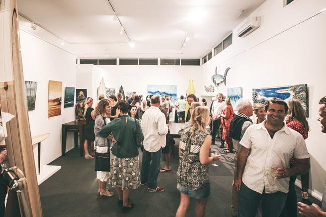 Ocean Art Opening Margaret River Australia Furniture Gallery 6Marri Timber Jarrah Timber