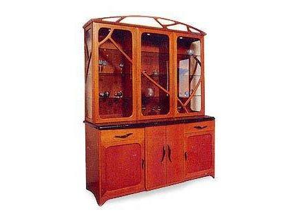 Natural Edge Display Cabinet