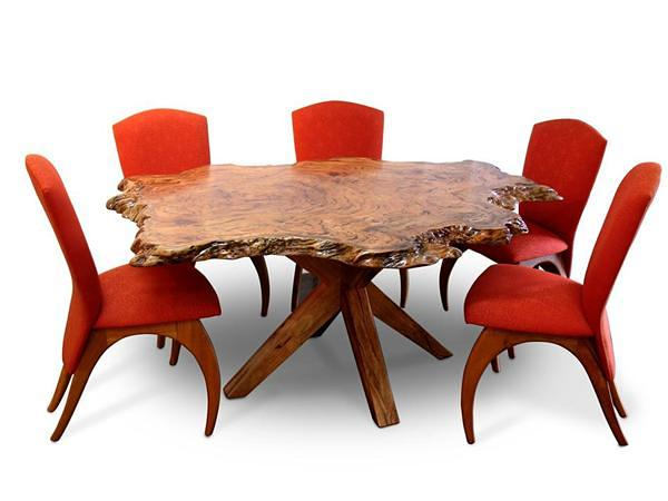 Table Dining Isle With Crab Dining Chairs New Newb