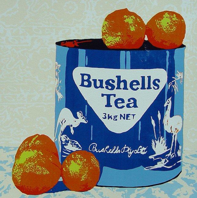 Caroline Juniper Tea and Oranges
