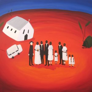 Jody Broun The Whiter Side of Life 152x122cm $9,800