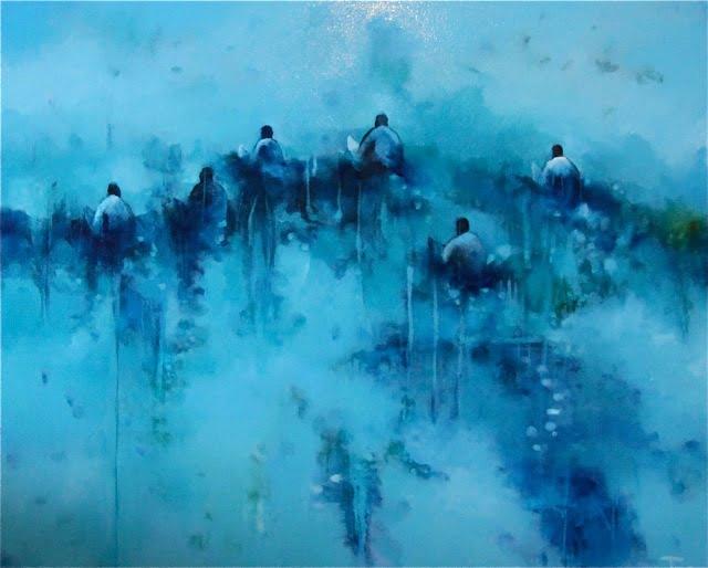 Jos Myers   Aqua Fine Art