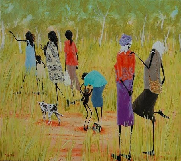 Judy Prosser   Wet Season Women Fine Art