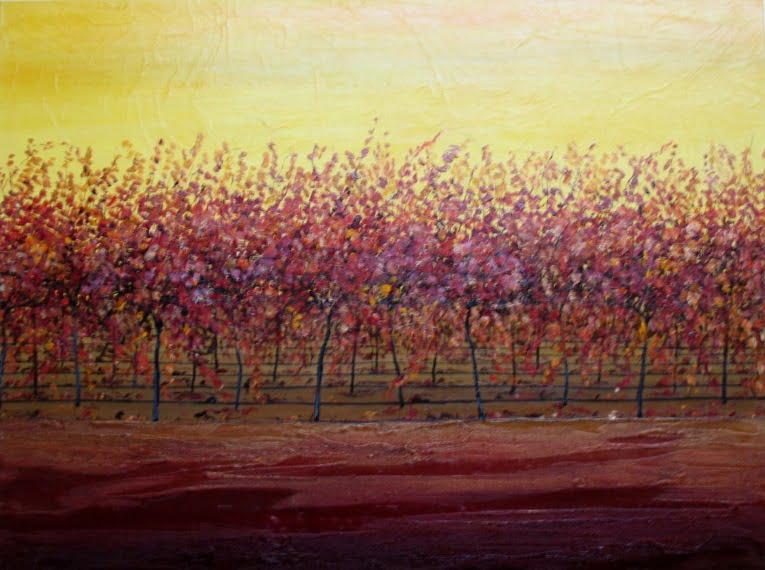 Lyne Franke Autumn Sun 122x92cm 3900