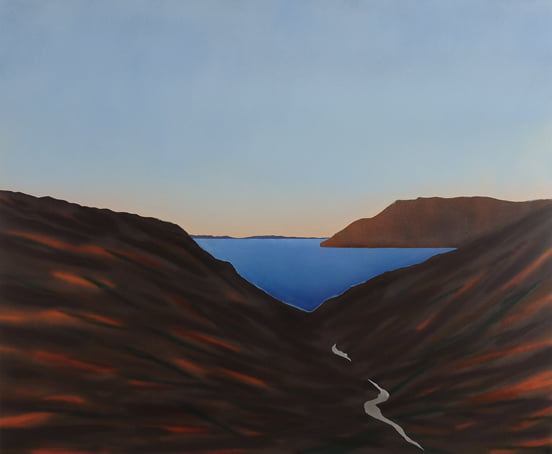 Michael Wise THe South Land 120x100cm 4500