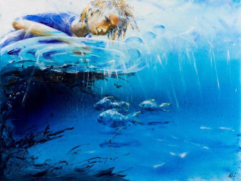 Poking Fishes 91 C 122Cm