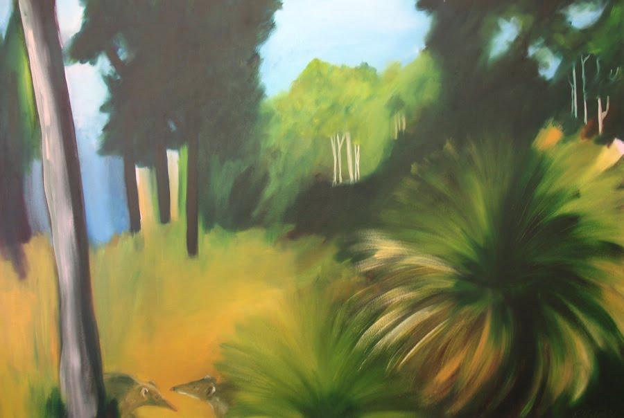 Rowena Keall Walsh   Bandicoot Bush Fine Art