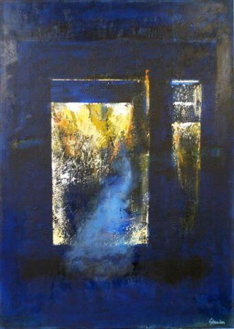 Ralph Stanton   Blue 1 Fine Art