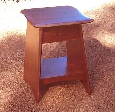 gotham jarrah bed • fine furniture design | fine art paintings