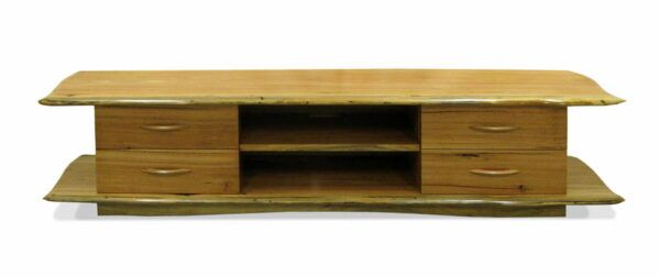 Bfg Audio Visual Unit 4 Drawer Front Marri Timber