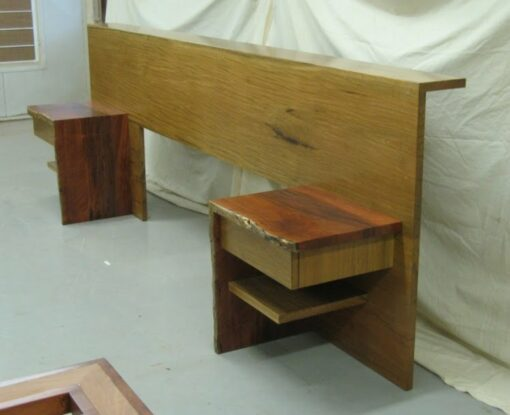 Bed Head Shinto With Bedsides Side 001