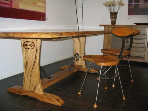 Cellar Dining Table Under Shot