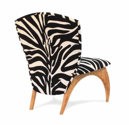 Chair Cray Zebra Side