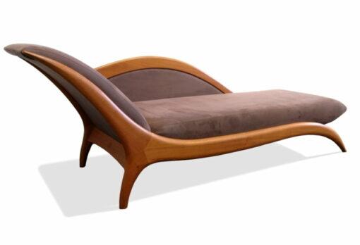 Chaise Lounge Sues Blackbutt With Raisin Macrosuede