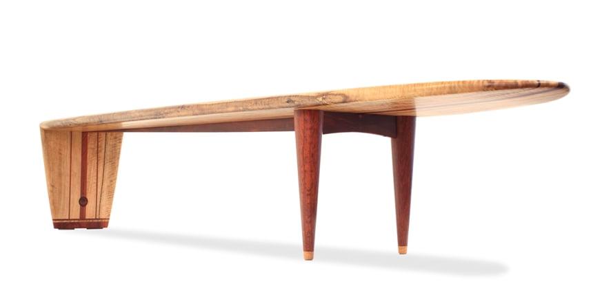 Coffee Table Malibu Underside