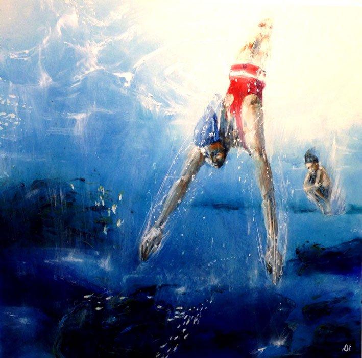 Di Taylor Crisp Narabup Dive122 x 122cm 4000
