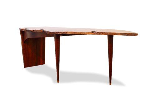Freeform Jarrah Burl Desk