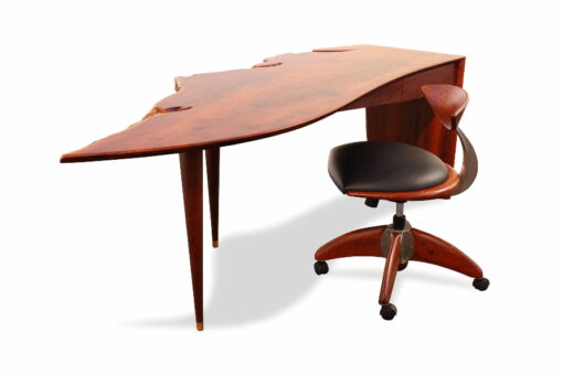 Freeform Desk With Spock Office Chair