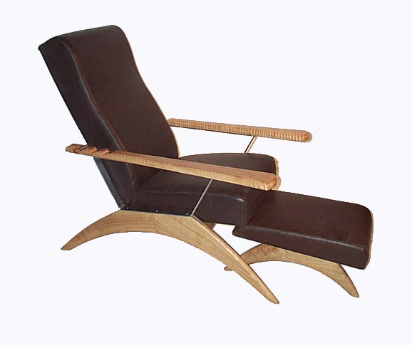 Gnarabup Chair & Foot Stool Fine Art