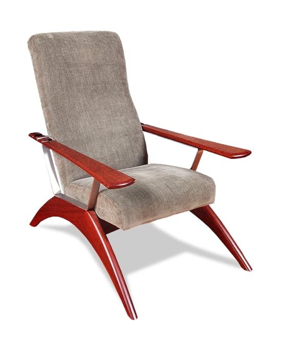 Gnarabup Chair Grey Fabric