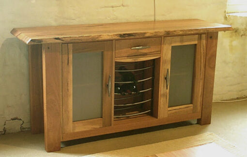 Groucho Side Board With Wine Rack And Draw