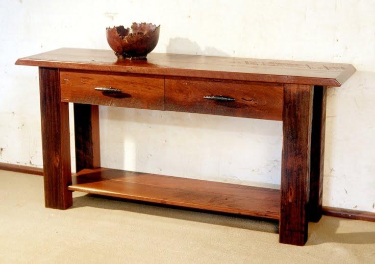 Hall Side Table groucho jarrah side table • fine furniture design | fine art