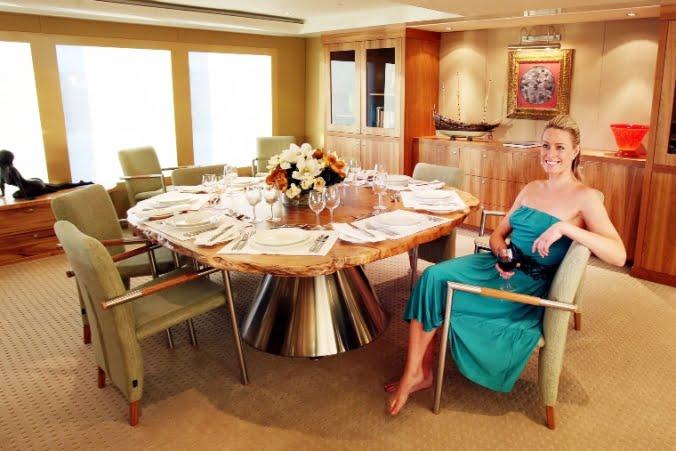 Jahroc Furnishes Eendracht Yacht Fine Art