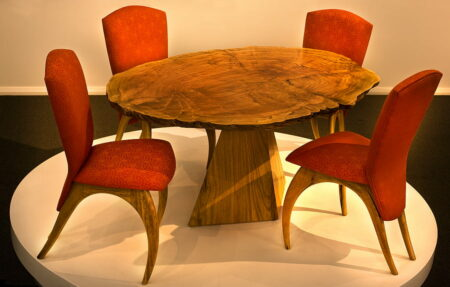 Jahroc Burl And Chairs