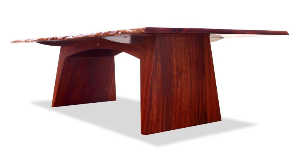 Boab Timber Dining Table Fine Furniture Design Fine Art : Kimberley Karri twin slab dining table LG from jahroc.com.au size 1024 x 537 jpeg 98kB