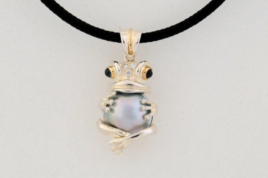 Larry Williamson   Frog Pendant Fine Art