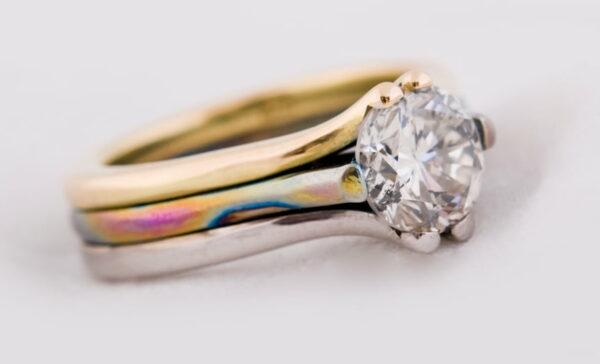 Larry Williamson Diamond Ring Side