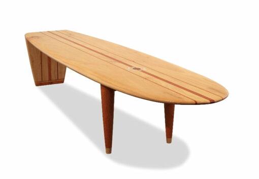 Malibu Coffee Table Blackbutt Front
