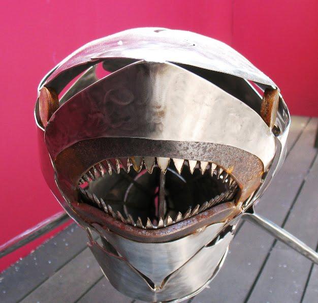 Martin Costello White Pointer Shark 6400