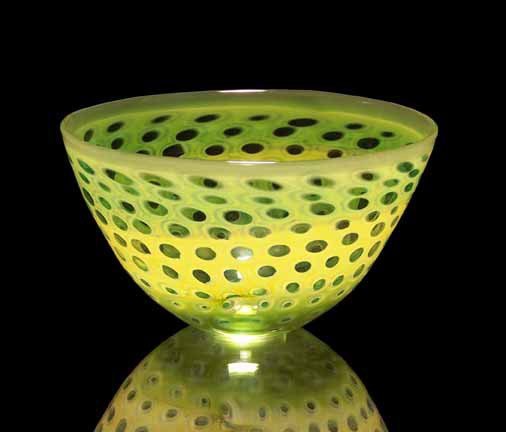 Matt Ryan Graal Vessel Green Bowl 1