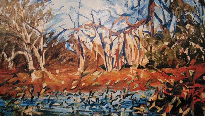Michael Siegenthaler   Dip In The Bend Fine Art