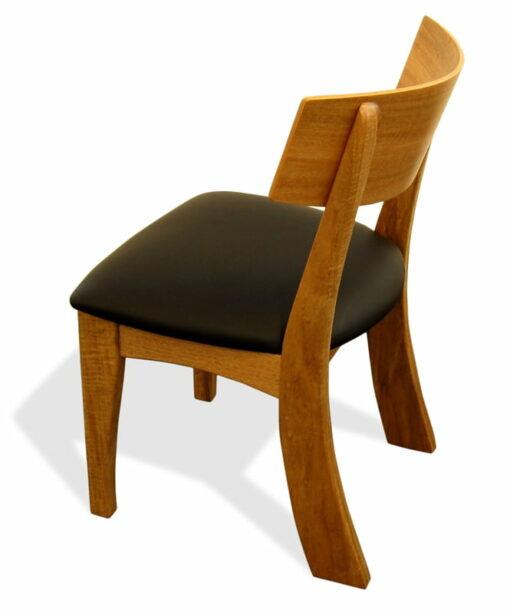 Murchison Dining Chair Square Back Marri Rear