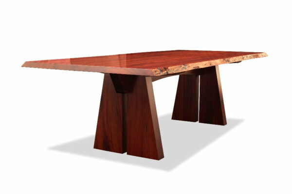 Nara Dining Table 2400L 2 Deep Etched
