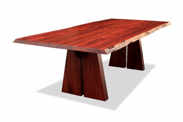 Nara Dining Table 2400L Deep Etched