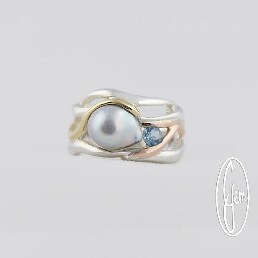 P35b Gemma Baker Jeweller Abrolhos Pearl Ring
