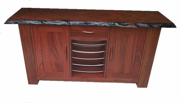 Sideboard Groucho Wooden Doors Jarrah