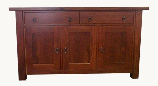 Sideboard Homesteader Jarrah 3 Doors 2 Drawers 1