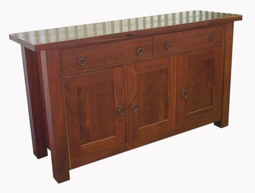 Sideboard Homesteader Jarrah 3 Doors 2 Drawers 2